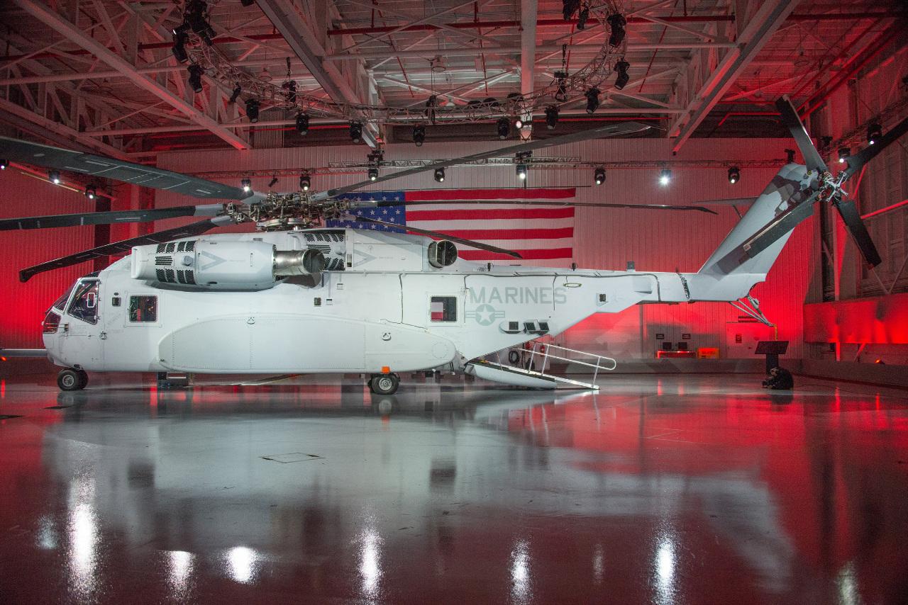 "Sikorsky dévoile le CH-53K ""King Stallion"""