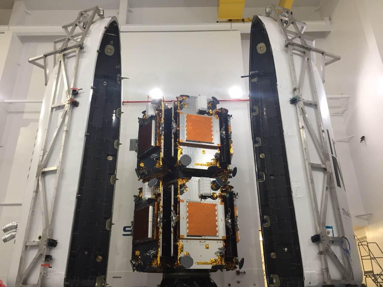 Troisième lot Iridium Next sur orbite