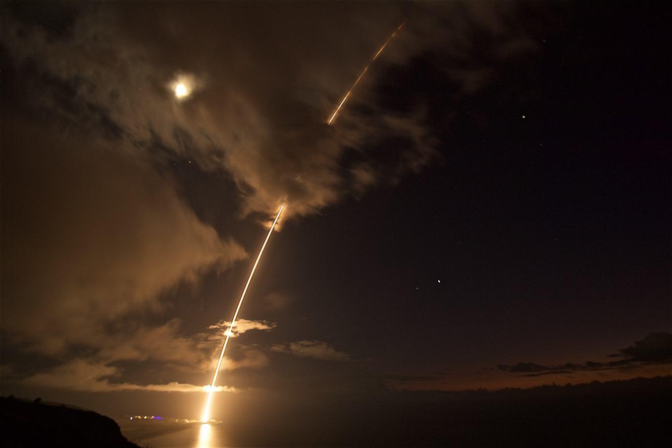 Défense anti-missiles : Succès d'un tir de SM-6
