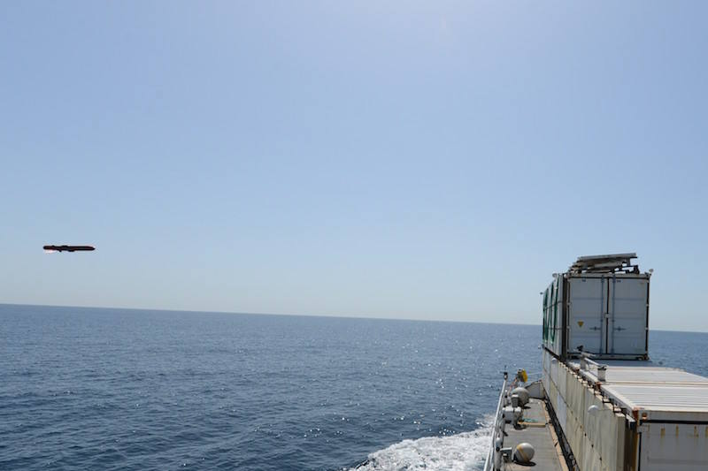Second test success for MBDA's Sea Venom missile