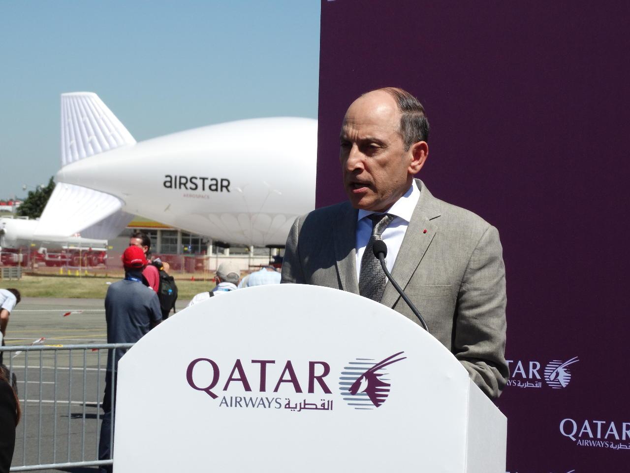 Bourget 2017 : Qatar Airways présente la QSuite en première mondiale