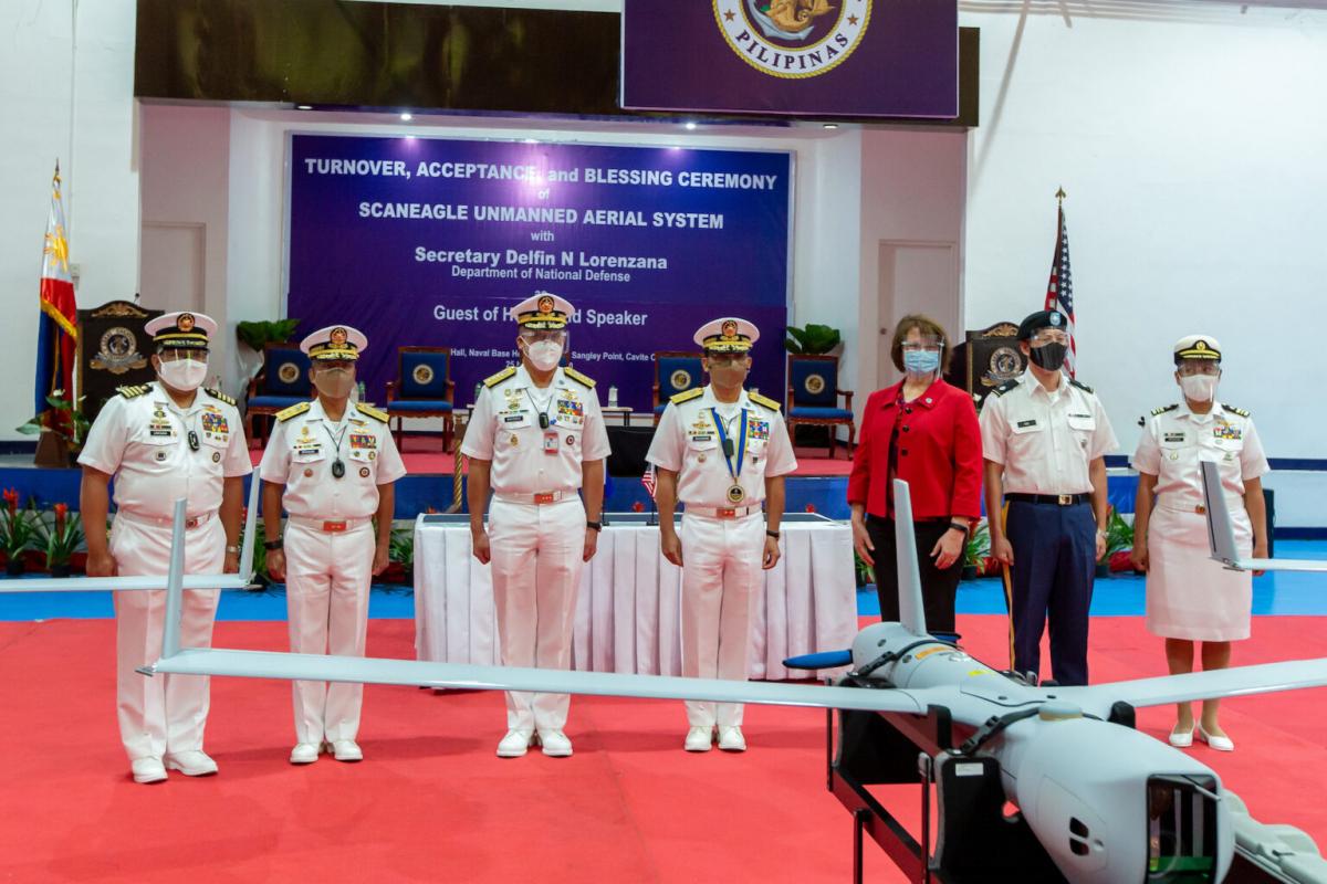 Les Etats-Unis dotent les Philippines de drones ScanEagle