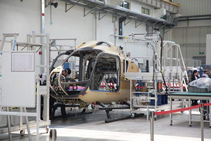 Airbus H135 assembly line in China opens