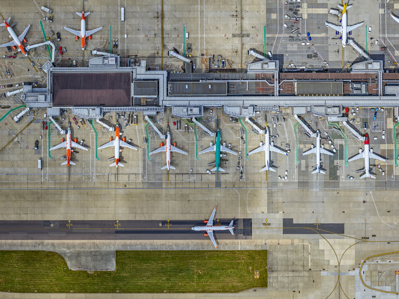 Vinci prend le contrôle de l'aéroport de Gatwick