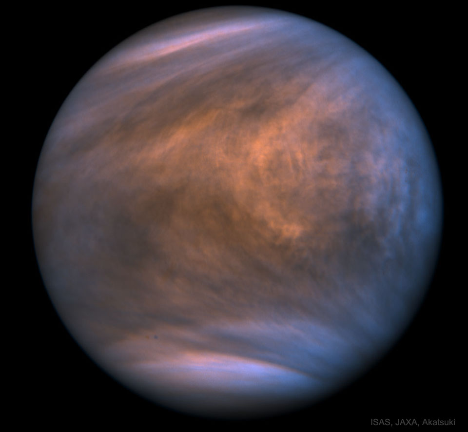 De la phosphine sur la planète Vénus ?