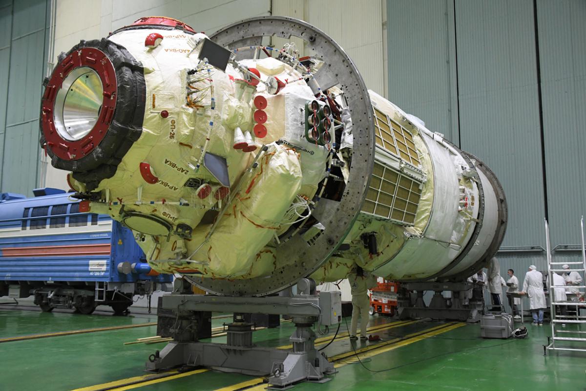 Nouvelles sueurs froides pour le module russe Nauka