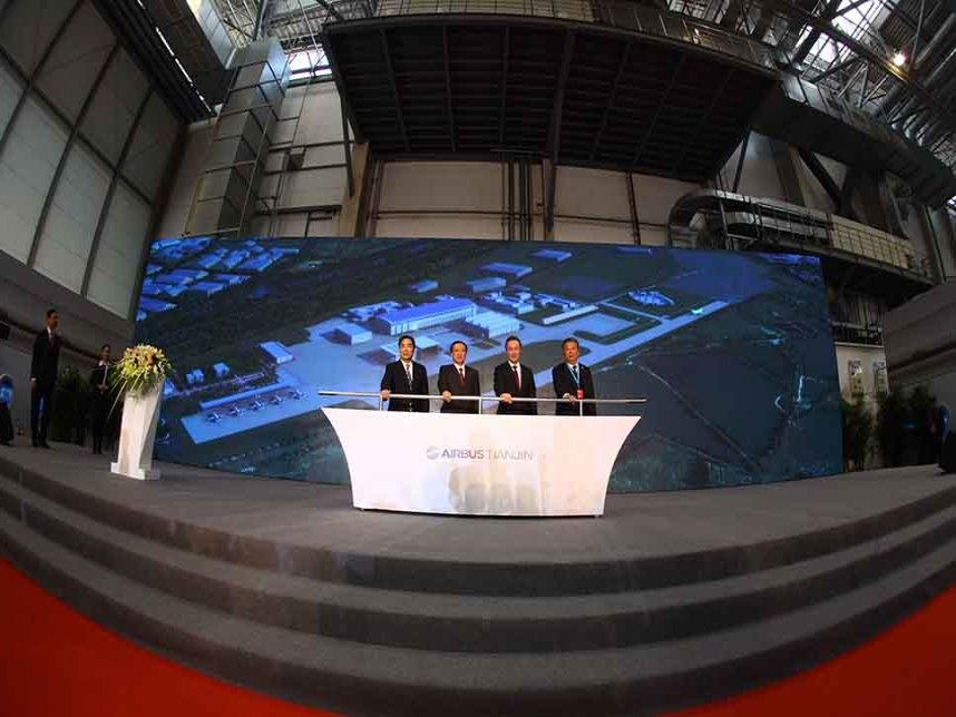 Airbus A330 : la construction du site de Tianjin est lancée