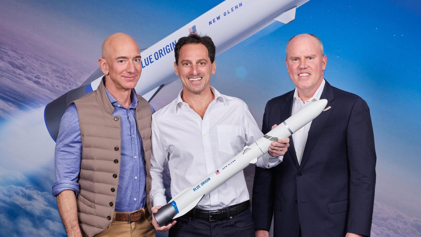 Le New Glenn de Blue Origin retenu par Telesat pour déployer sa constellation LEO