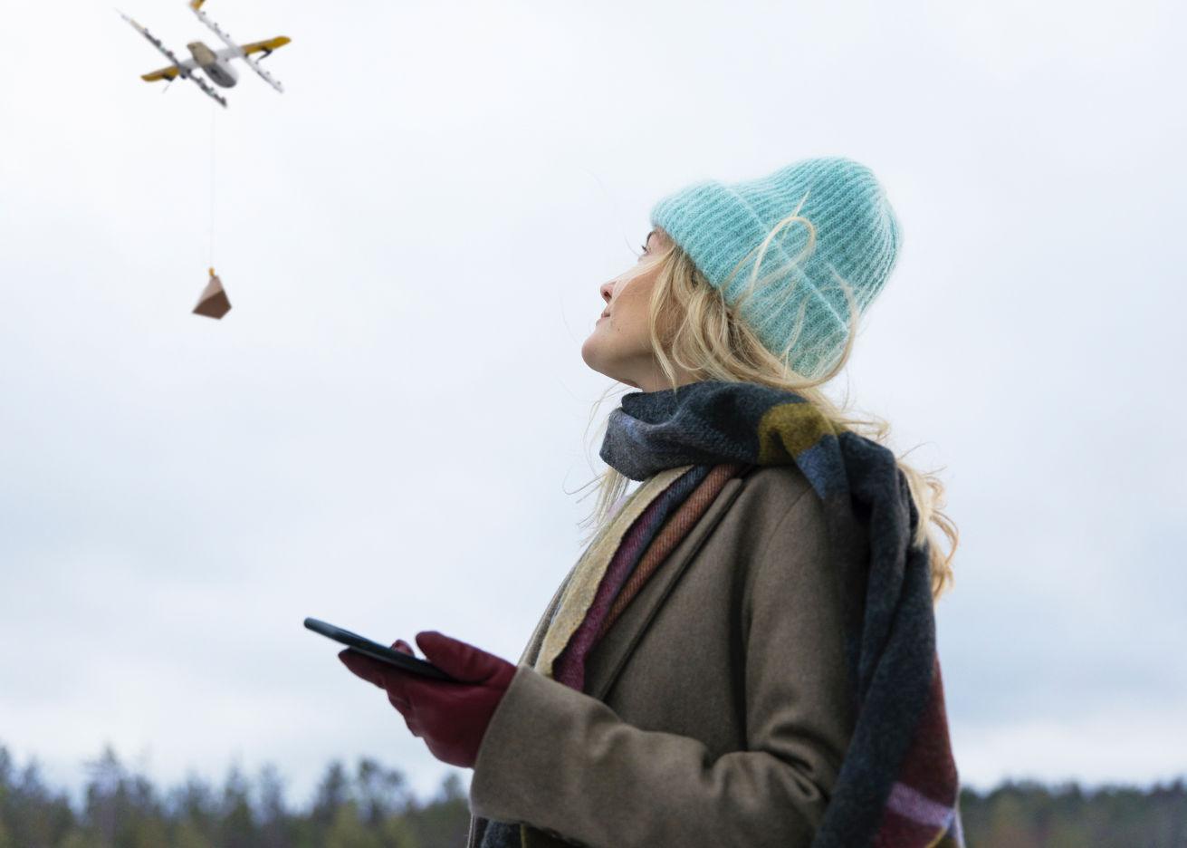 Google étend son projet de livraison par drones à la Finlande