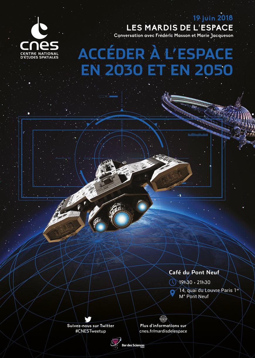 Accéder à l'Espace en 2030 et en 2050 le 19 juin à Paris