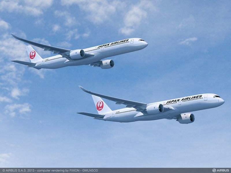 JAL unveils Airbus A350 plans
