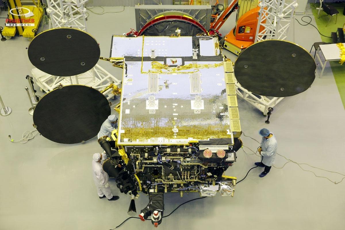 Contrat russe pour Thales Alenia Space