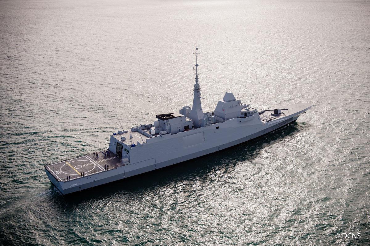 DCNS livre à la Marine Nationale sa 4ème FREMM