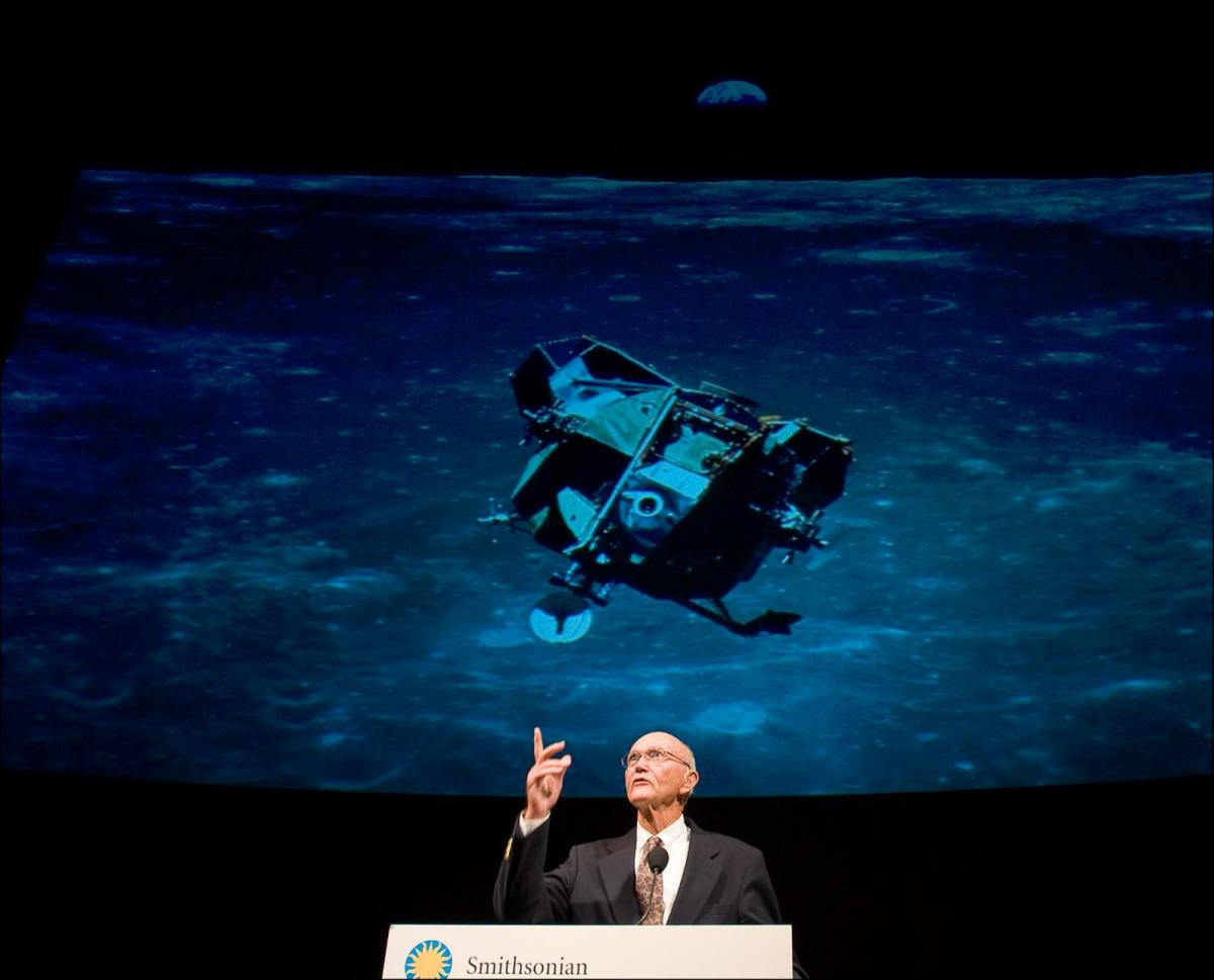 Disparition de Michael Collins, le troisième homme de la mission Apollo 11