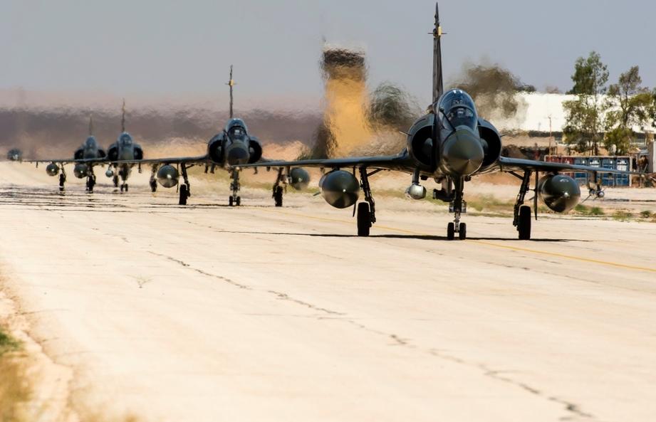 Opération Chammal : l'engagement des Mirage 2000 ne faiblit pas