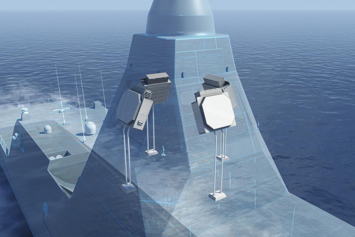Frégate FDI: Livraison du premier radar Sea Fire