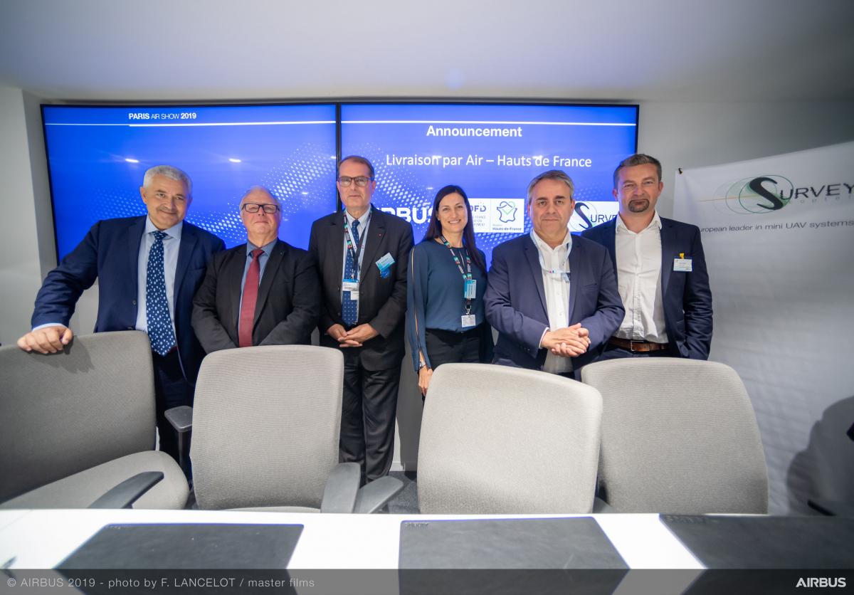 Bourget 2019: Airbus continue de s'intéresser aux services par drones