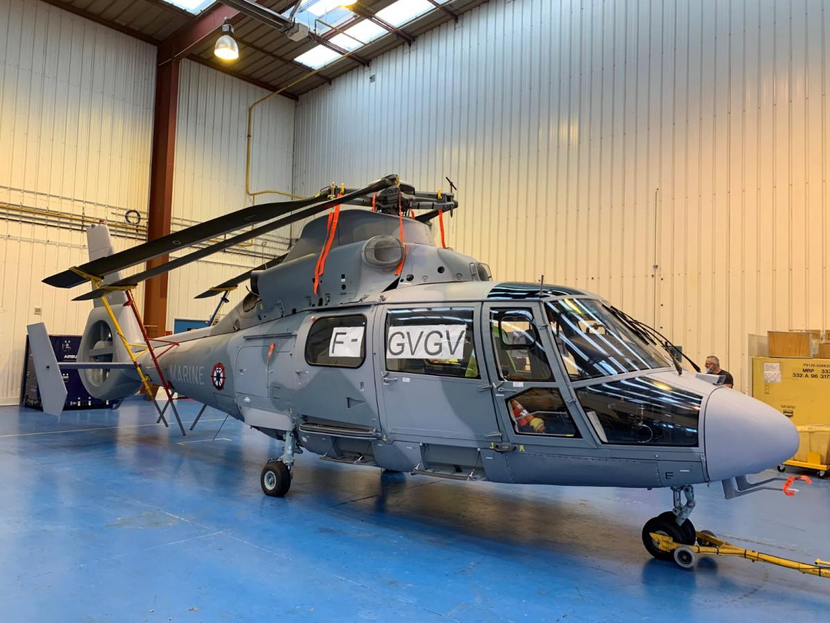La Marine recevra ses trois premiers Airbus Dauphin N3 le 1er décembre