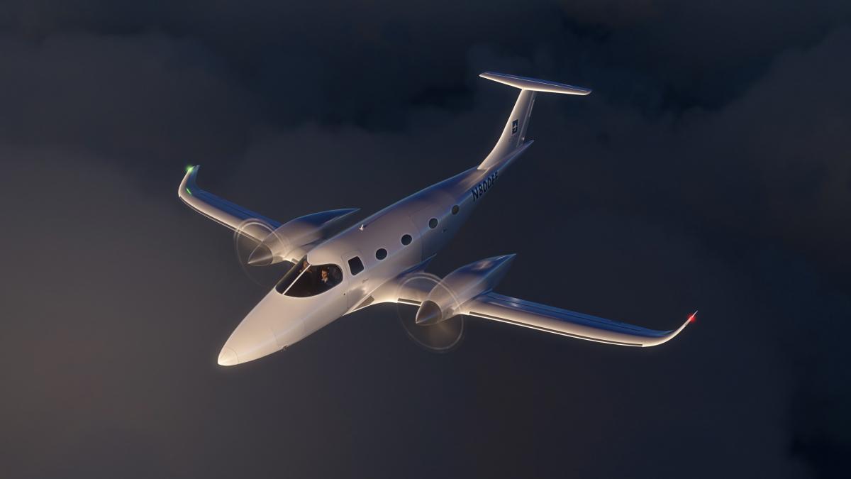 Bye Aerospace dévoile l'eFlyer 800