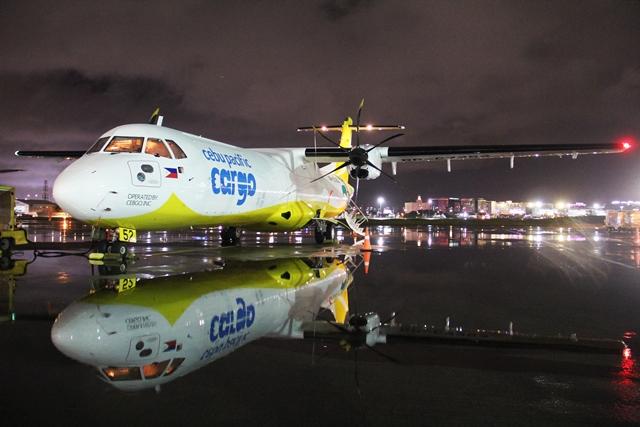 Cebu Pacific reçoit son premier cargo ATR