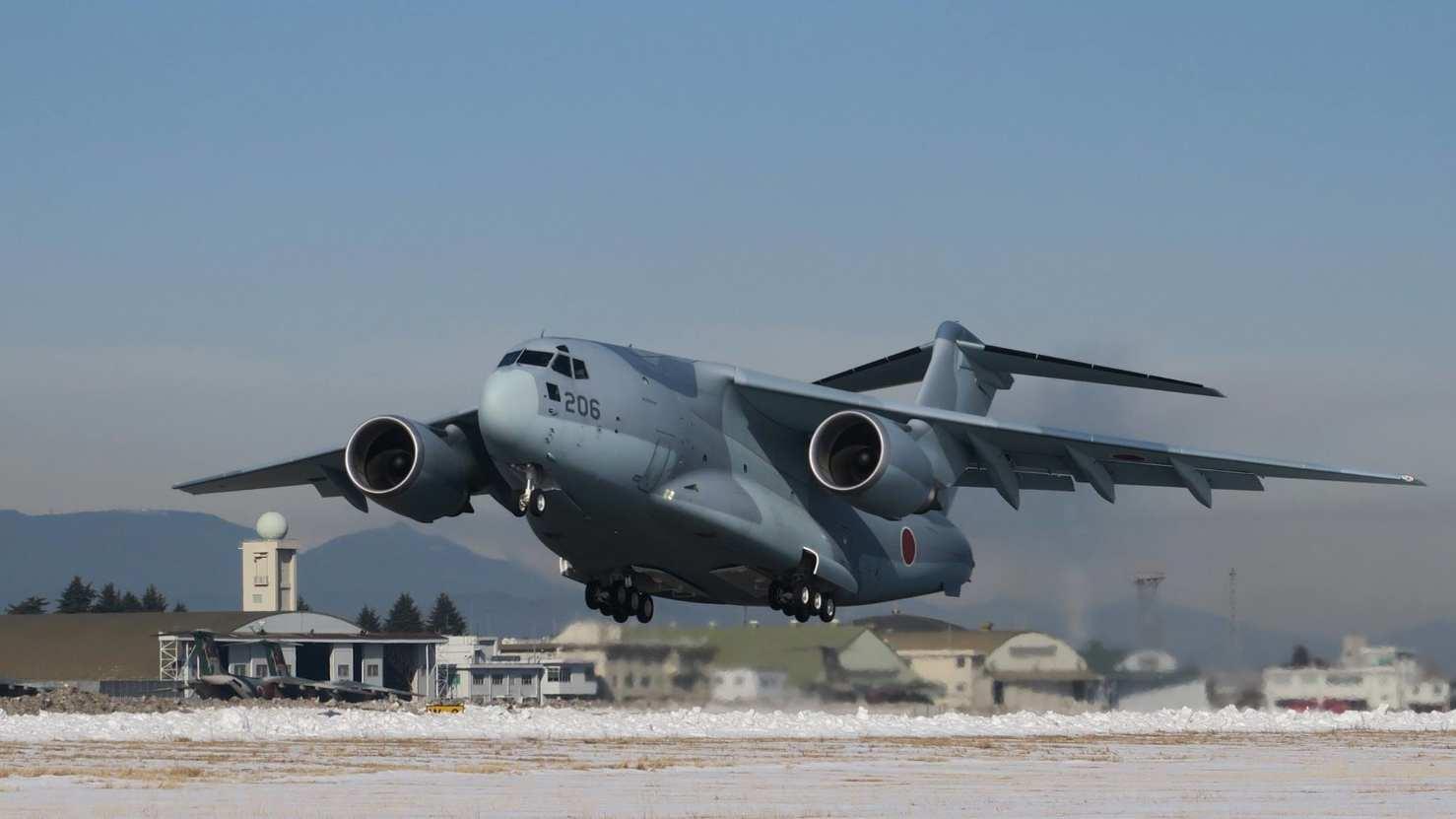 Japon : Le C-2 à l'oeuvre