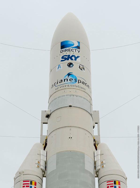 Ariane 5 lance deux satellites pour DirecTV