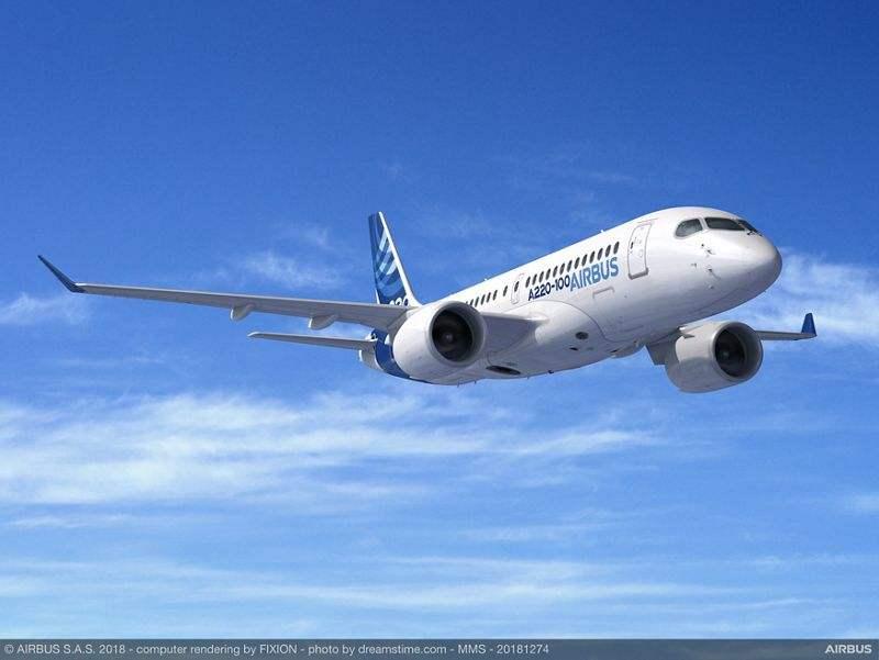 Airbus A220 : nouveau client pour 20 exemplaires