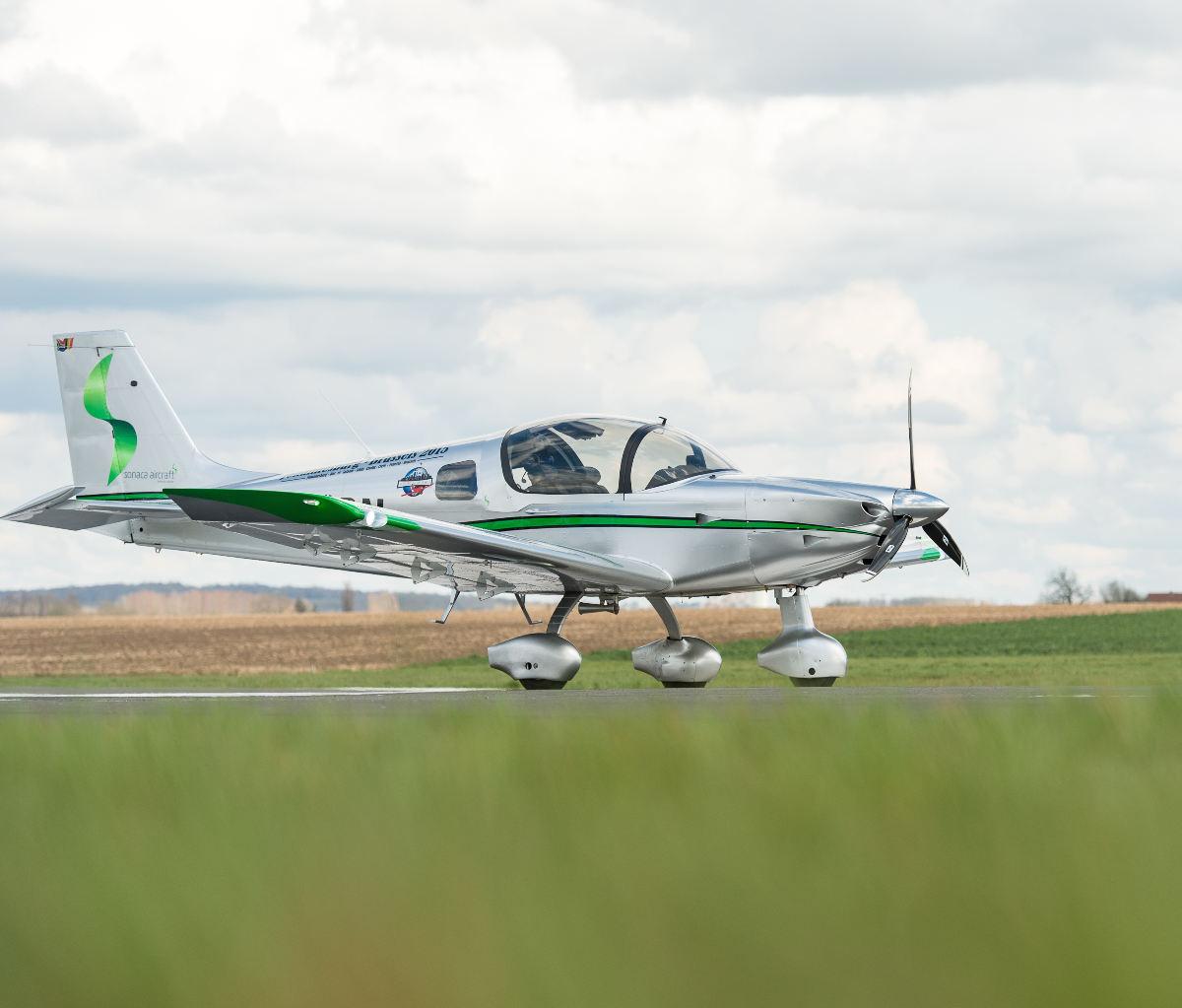 Le Sonaca 200 passe aux essais de certification