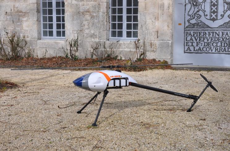 SOFINS 2017 : Helipse présente le HE-220E