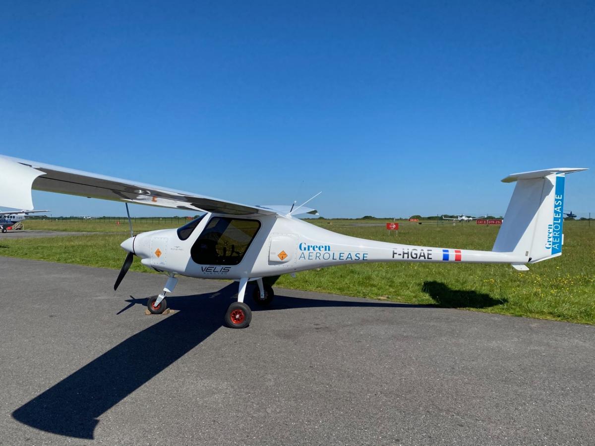 Green Aerolease place deux Velis Electro au Danemark