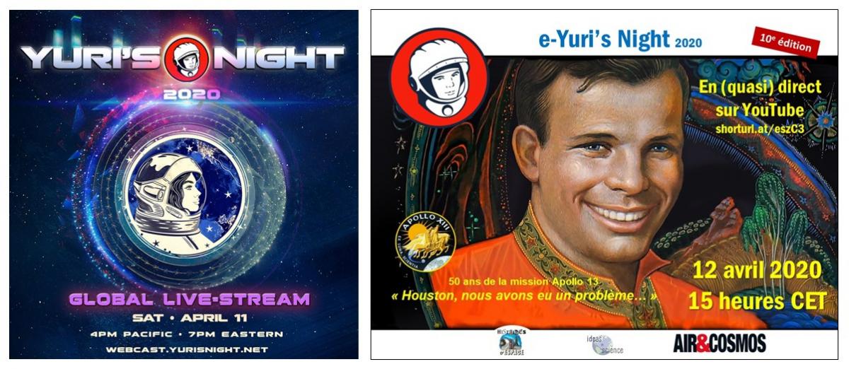 Yuri's Night virtuelles