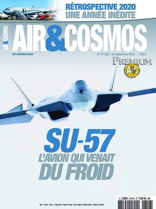 SU-57, rétrospective 2020, dans Air et Cosmos magazine cette semaine