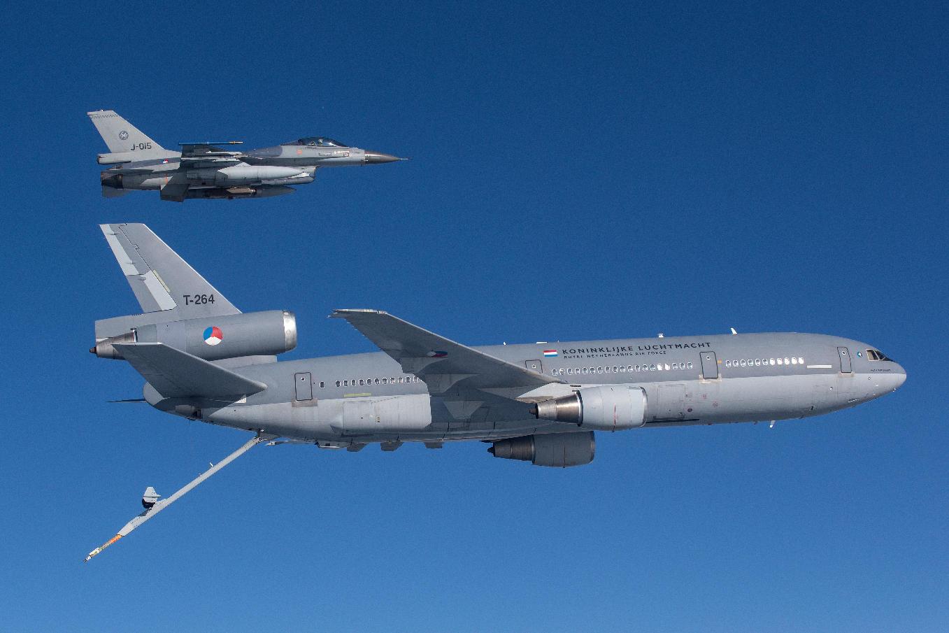 Deux exercices aériens majeurs aux Pays-Bas