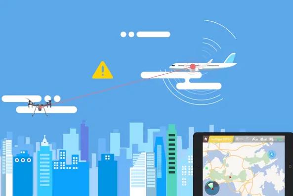 DJI permet à ses drones de détecter avions et hélicoptères