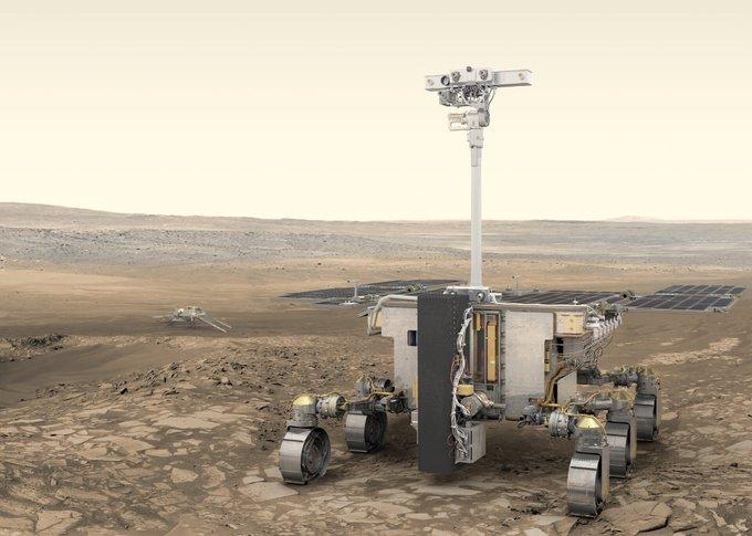 Nouveau report de deux ans pour la deuxième mission ExoMars