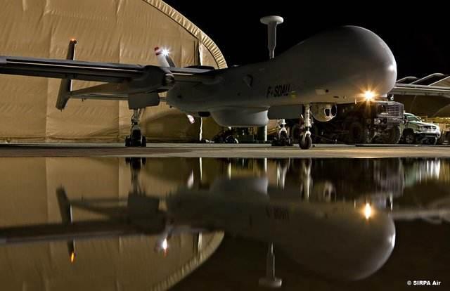 Bourget 2017 : le dispositif de sécurité aérien de l'armée de l'Air