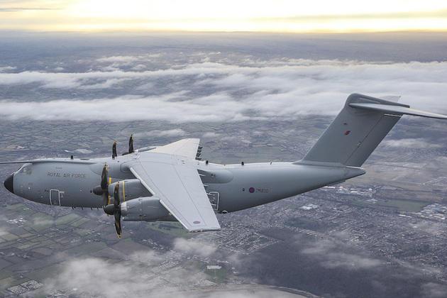 A400M: Airbus signe le contrat de soutien de la flotte britannique