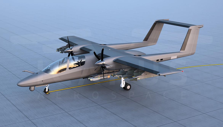 Contre-Guérilla : Le TAV, digne successeur de l'OV-10 Bronco ?