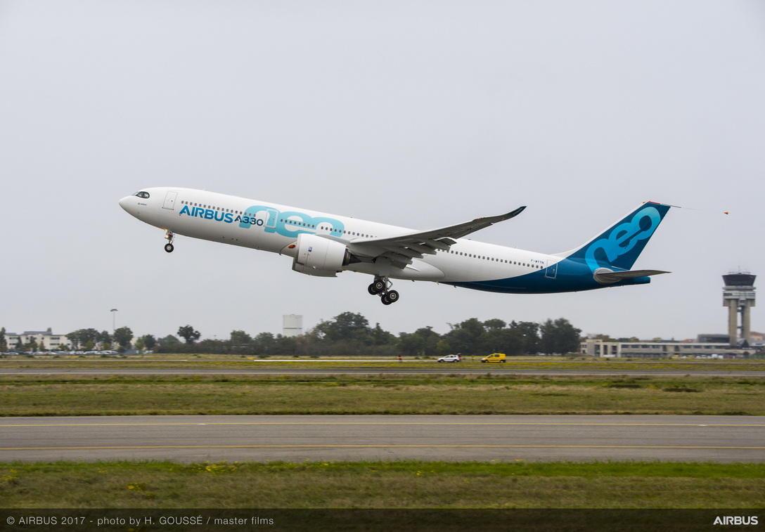 Airbus continue de pousser ses A330neo