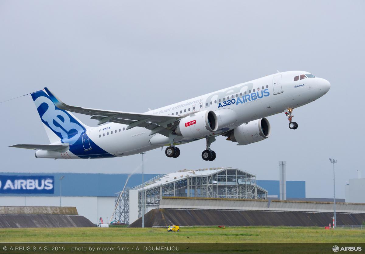 Famille Airbus A320 : CN EASA suite à des indications de vitesse erronées