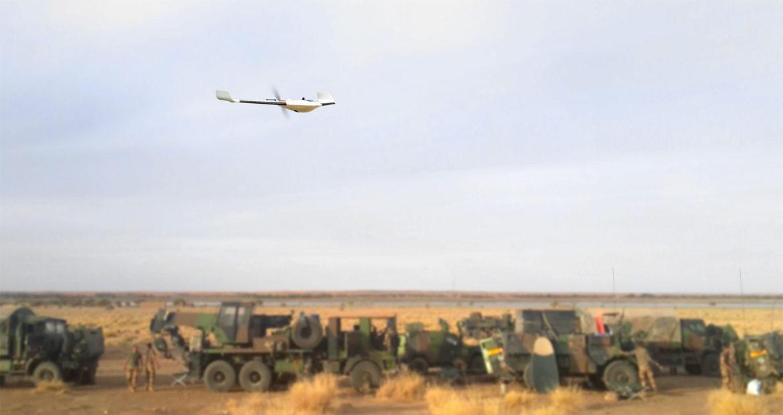 Delair livre des drones au Niger