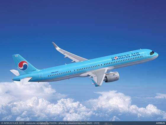 Singapore Airshow 2020 : Korean Air choisit Pratt & Whitney pour ses Airbus A321neo