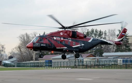 Le Mi-38 poursuit ses essais militaires