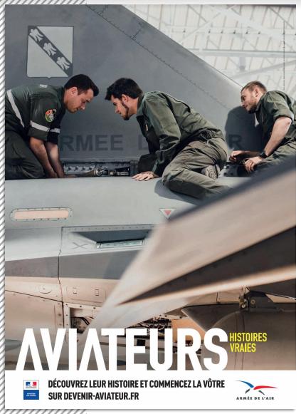 Bourget 2017 : nouvelle campagne de recrutement de l'armée de l'Air