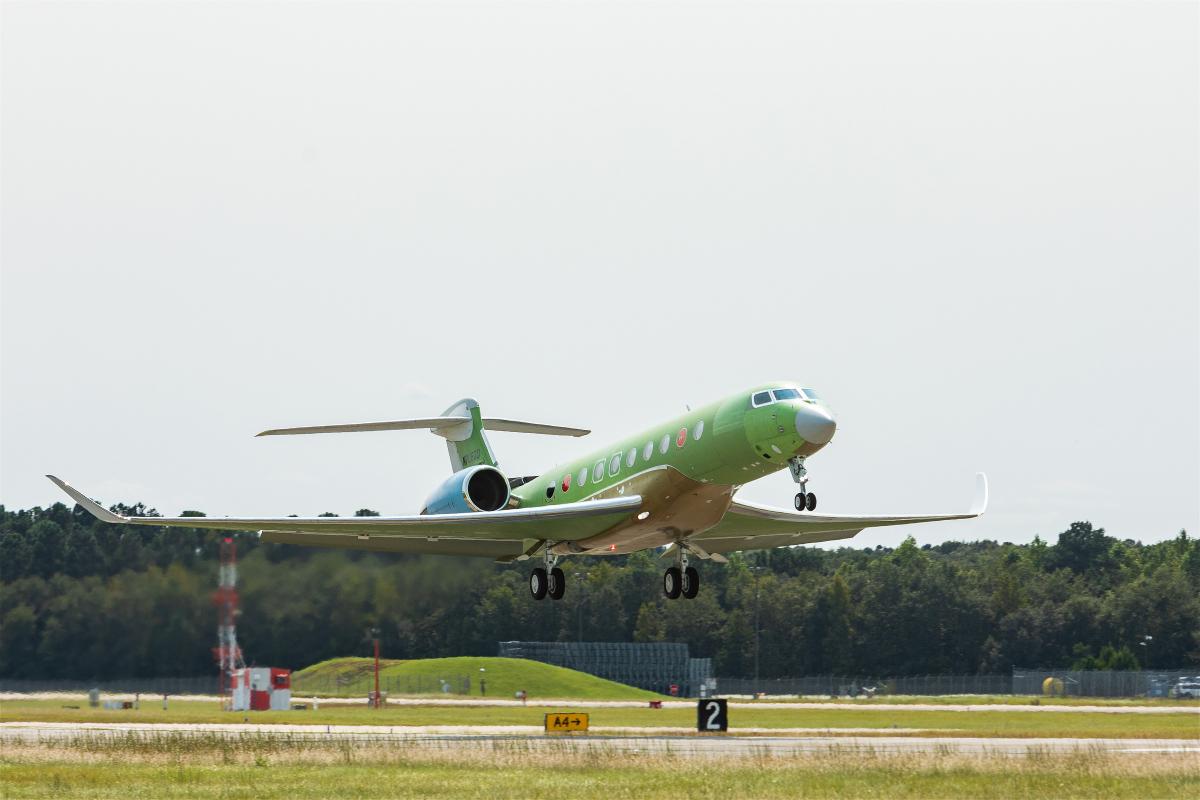 Le quatrième Gulfstream G700 a décollé