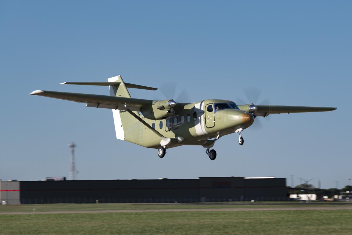 Un troisième Cessna SkyCourier en vol