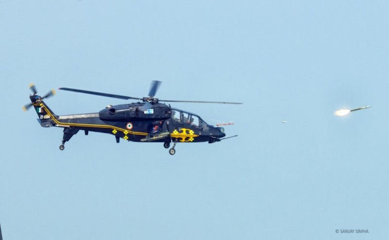 HAL Light Combat Helicopter completes weapon trials