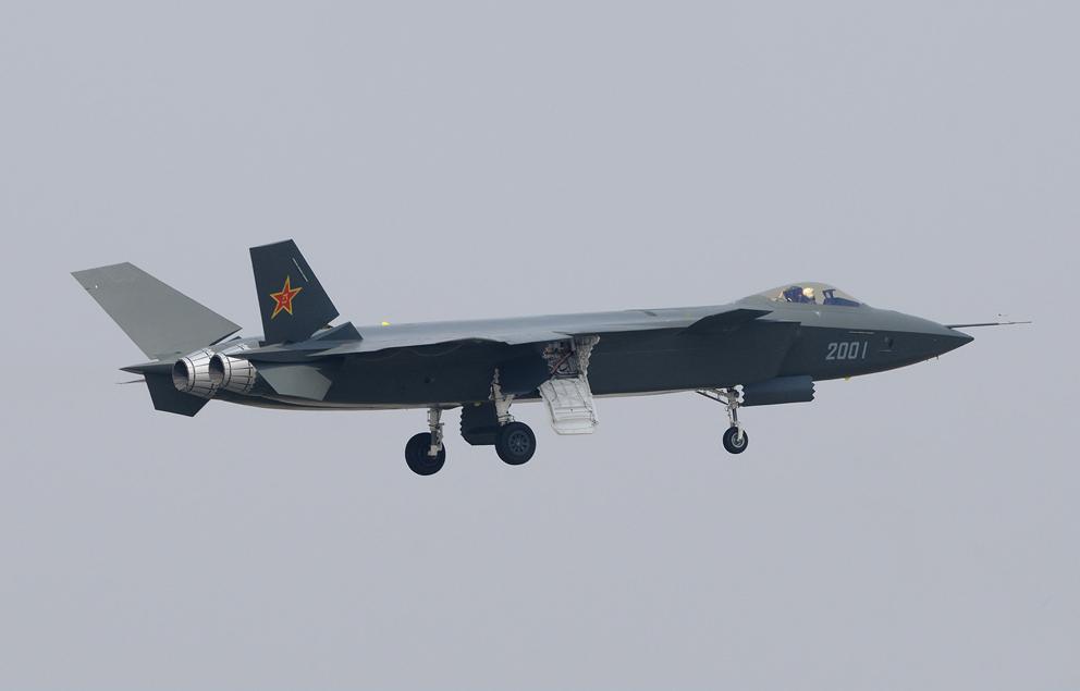 Le J-20 chinois serait prêt à passer à la production en série