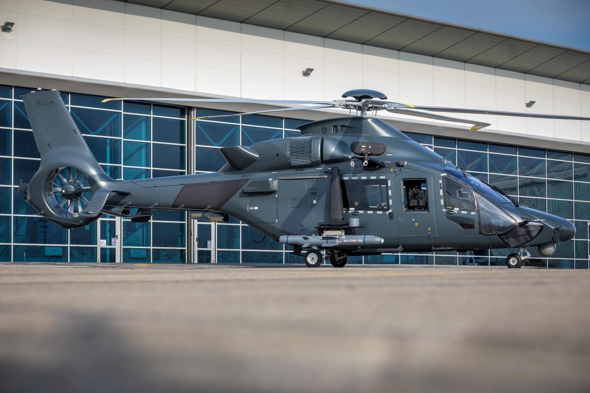 Airbus Helicopters poursuit la militarisation du H160 et du soutien associé