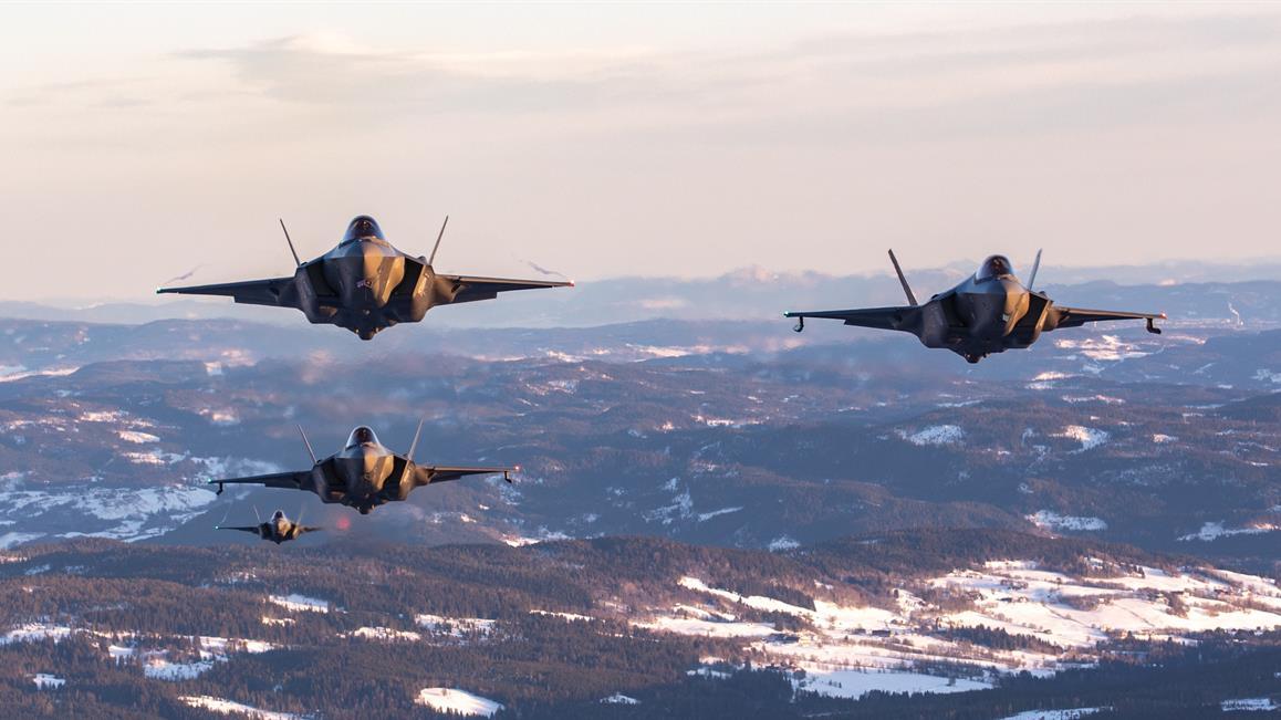 La Norvège déploie le F-35 en Islande